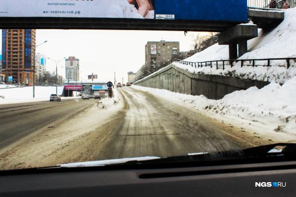 Ипподромская магистраль в местах пересечения с улицами Гоголя и Фрунзе
