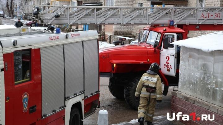 В Башкирии сгорела квартира: погибли два человека