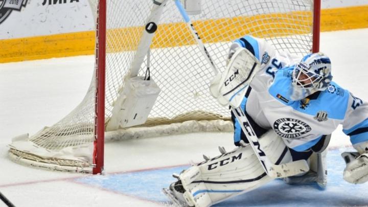 Хоккей: «Сибирь» проиграла минскому «Динамо»