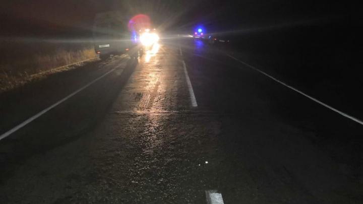 «Тойота Камри» слетела в кювет на трассе под Новосибирском: водитель погиб