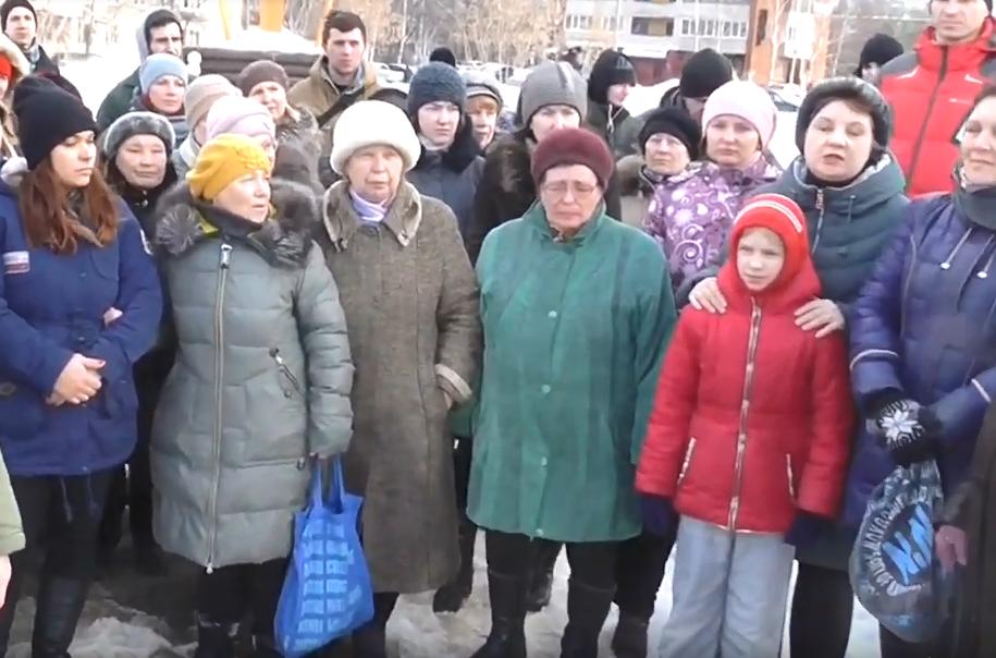 На сходе нижегородцы попросили сохранить для них сквер