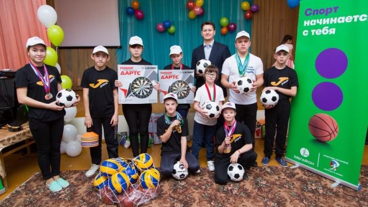 Детям 60% коррекционных школ РБ стали доступны занятия на новых спортивных тренажерах