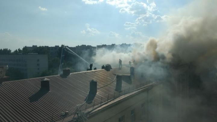 В Волгограде за три часа потушили аграрный университет: эксперты осматривают место происшествия