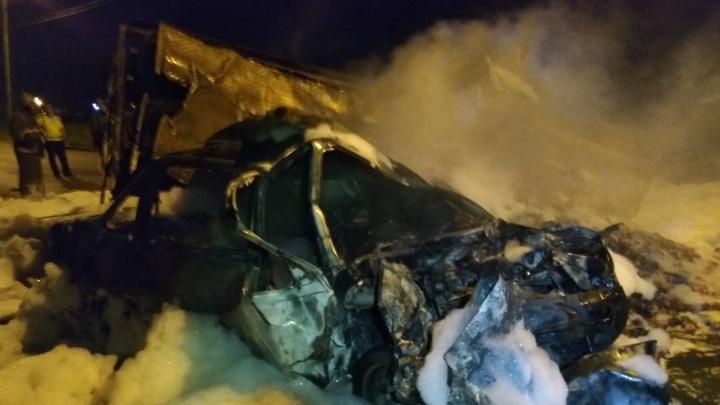 В Магнитогорске водитель погиб в лобовом ДТП