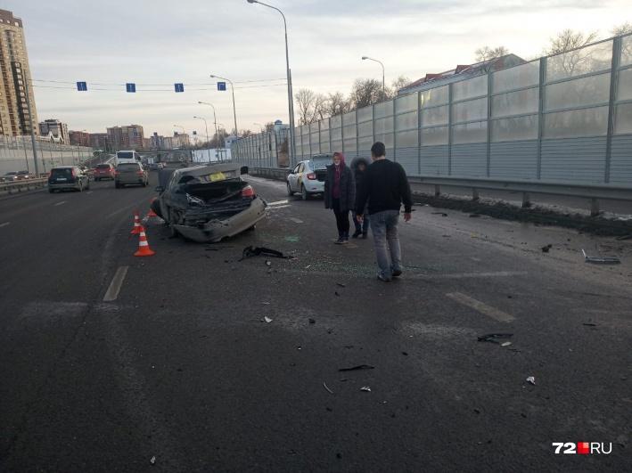 ДТП случилось возле дома №43 по улице Чернышевского