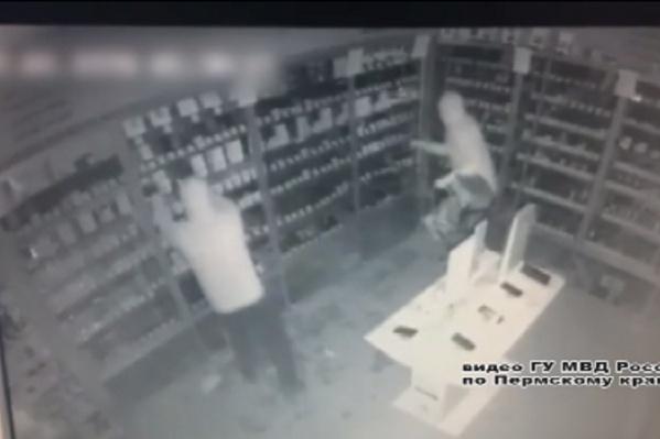 Ночные кражи зафиксировали камеры видеонаблюдения