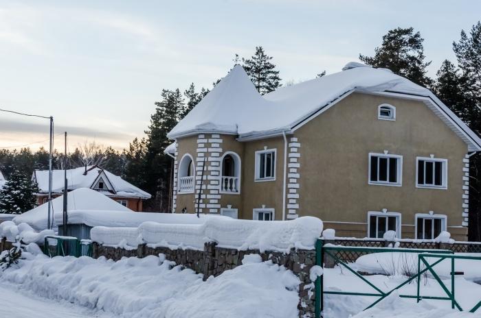 Средняя цена за коттедж в Краснообске — 17,3 млн рублей