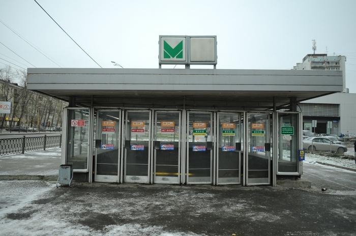 В первой половине мая зайти на станцию метро «Уралмаш» со стороны ДК Лаврова будет нельзя