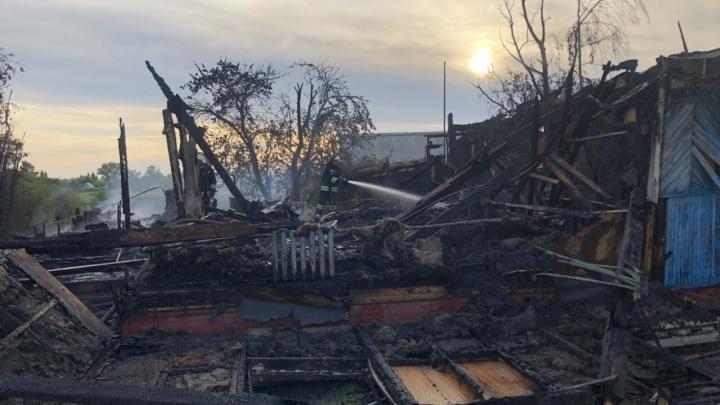 На пожаре в Павлоградском районе погибла 8-летняя девочка-инвалид