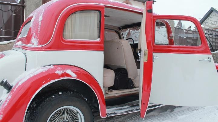 Самарец поставил на колёса Wanderer 1935 года выпуска
