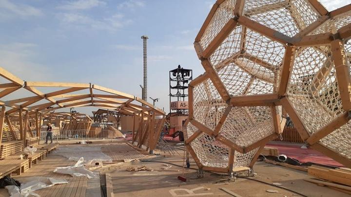 Красноярские архитекторы придумали концепцию для парка в Саудовской Аравии
