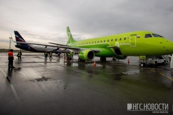 Летевший в Новосибирск самолёт вернулся в Норильск из-за подозрения на неполадку
