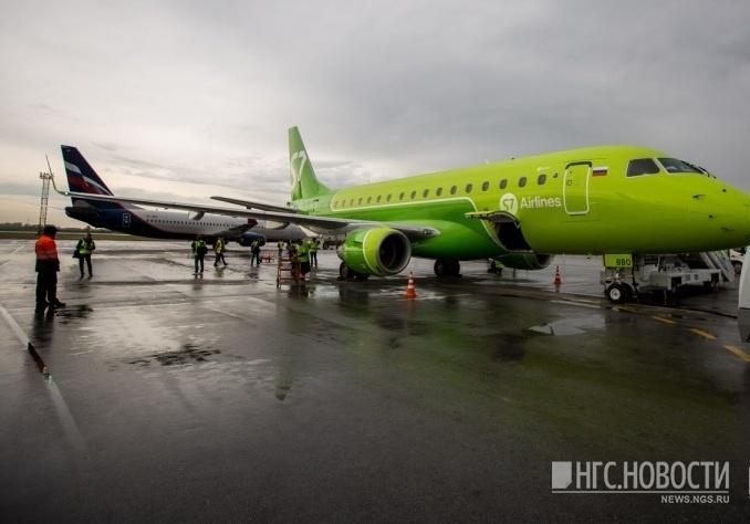Пассажирский самолет вернулся вНорильск из-за сигнала онеисправности
