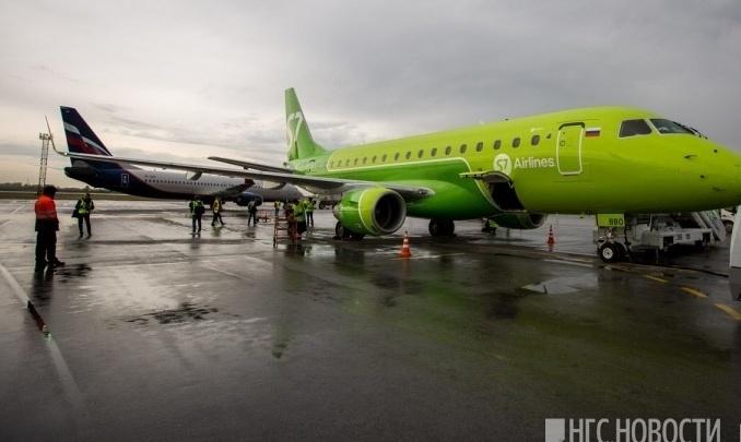 В Норильске экстренно сел самолёт до Новосибирска с 67 пассажирами