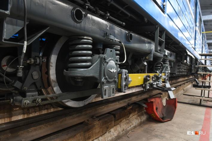 У новых поездов обновили компоненты двигателей и электрику