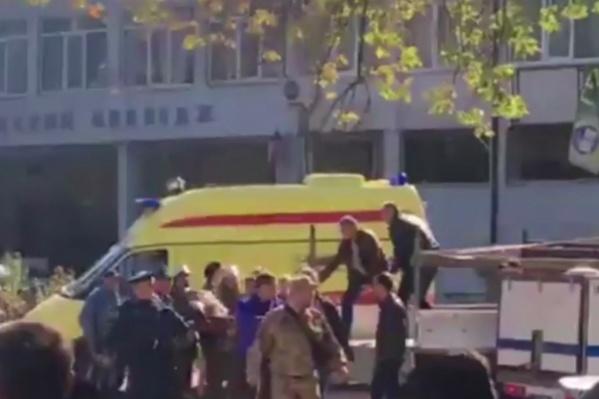 В антитеррористическом комитете сообщили, что в колледже сработала бомба