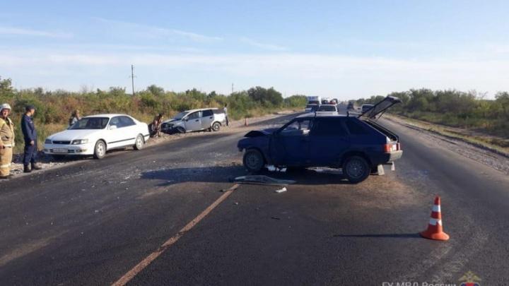 Трасса Волгоградской области за час собрала две серьезные аварии