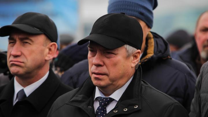 Донской губернатор назвал условие, при котором обманутые дольщики получат новые квартиры
