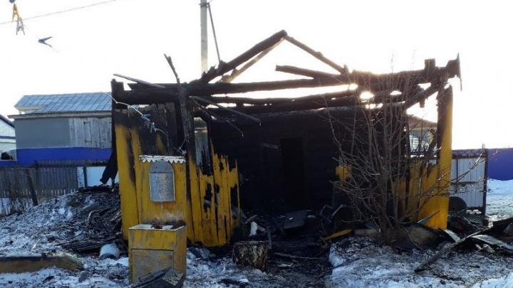 Попарились: в Башкирии дотла сгорела баня