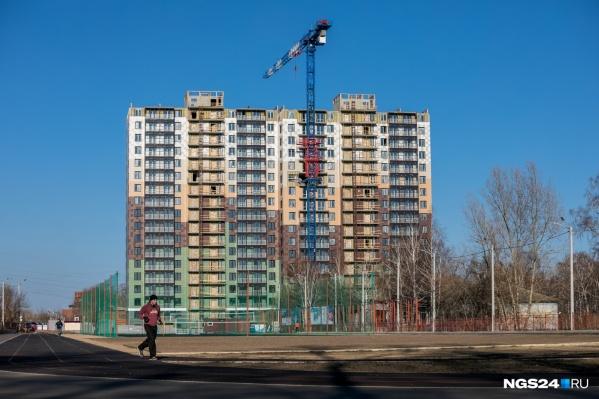 Так жилой комплекс выглядел в мае текущего года