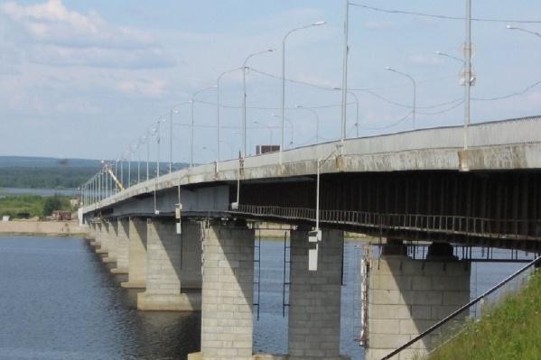 Мост отремонтировали по просьбам жителей Березников
