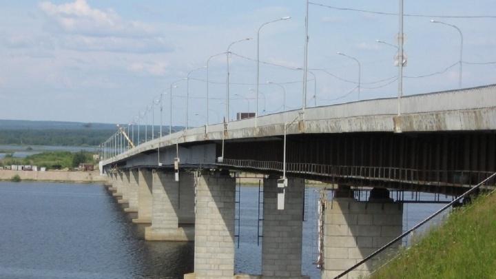 В Березниках завершили ремонт моста через Каму. Его отремонтировали по жалобам жителей