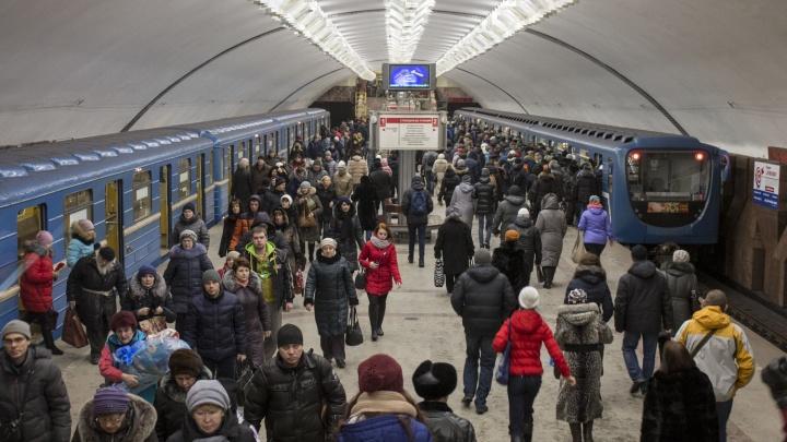 Как работает метро в Новосибирске 31 декабря — объясняем в шести карточках (сохраните их)