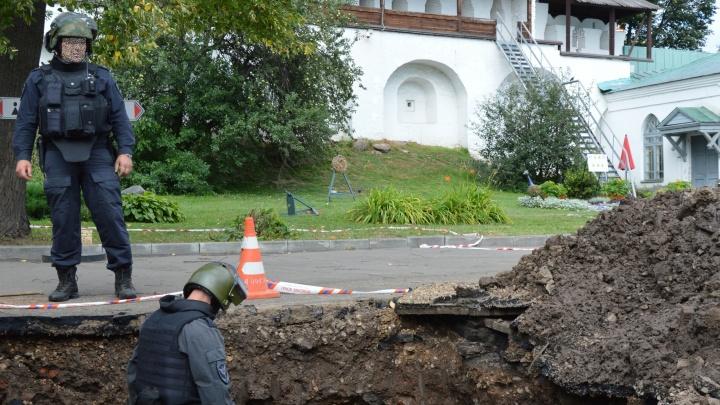 В центре Ярославля нашли снаряд времен гражданской войны: эвакуировали людей