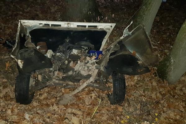 В аварии на улице Сосновой погибли четыре человека