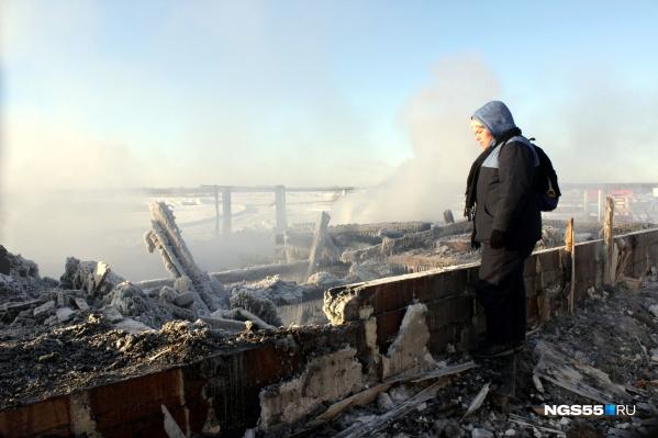 В огне погибли пятеро детей
