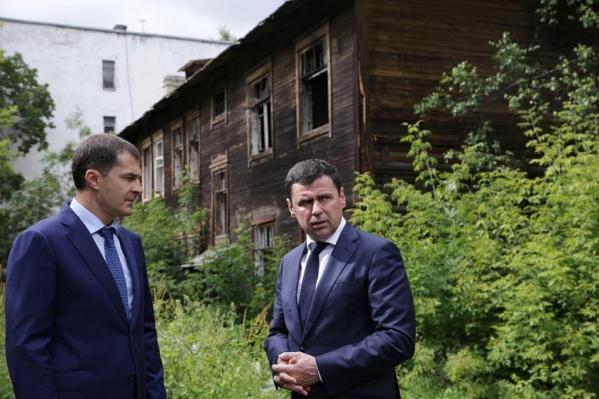 Миронов приказал Волкову лично проследить за благоустройством города и архитектурных объектов