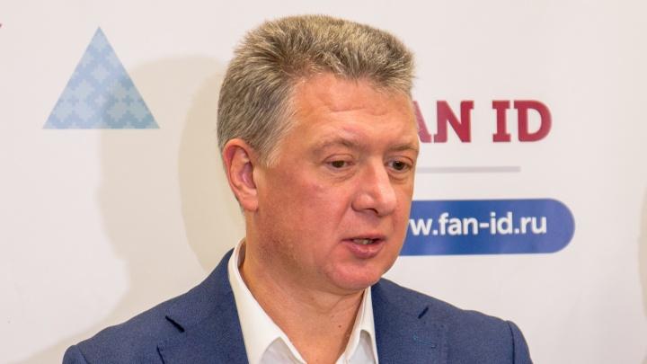 Врио минспорта Дмитрий Шляхтин прокомментировал задержание нетрезвого игрока «Крыльев Советов»