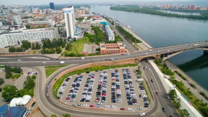 Промышленные гиганты сбрасываются на благоустройство центра Красноярска. Кто и по сколько