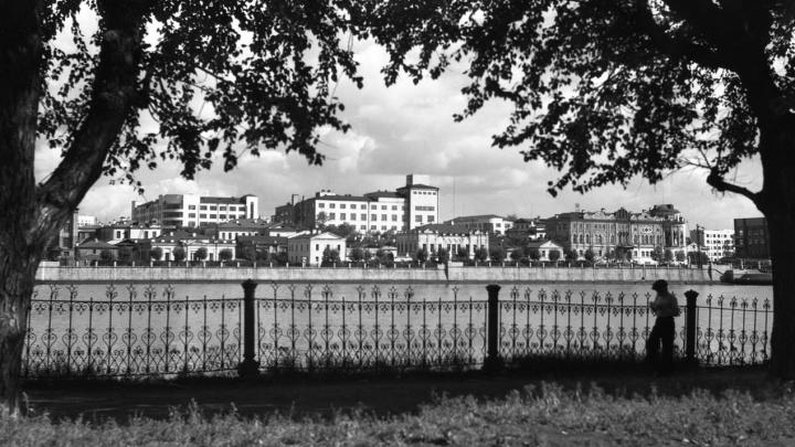 Неизвестный Свердловск: какой была набережная Исети до появления Приборостроительного завода