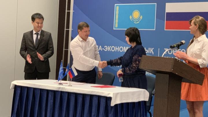 Казахстанские предприниматели посетили Челябинск