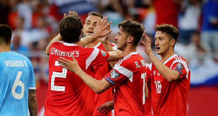 У гостей не было и шанса: сборная России разгромила Сан-Марино в матче отборочного турнира ЧЕ