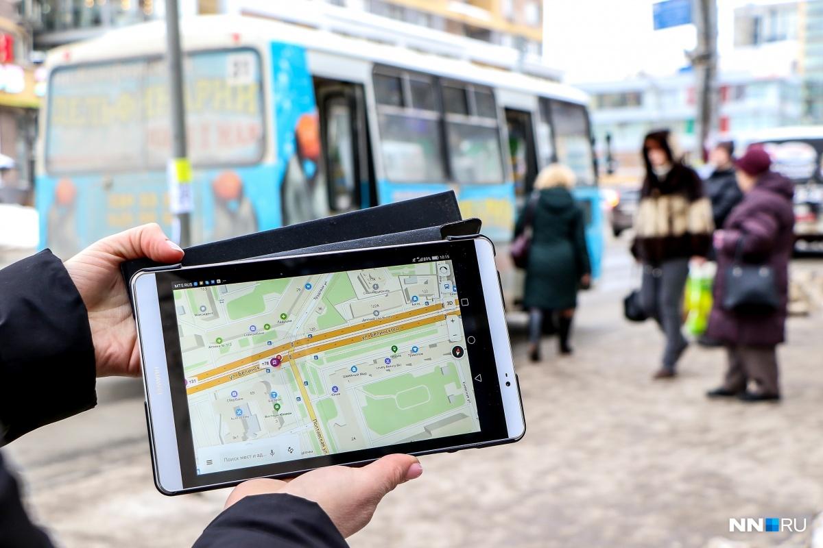 Приложение работает на мобильных устройствах, также выследить свою маршрутку можно на «Яндексе» через стационарные компьютеры