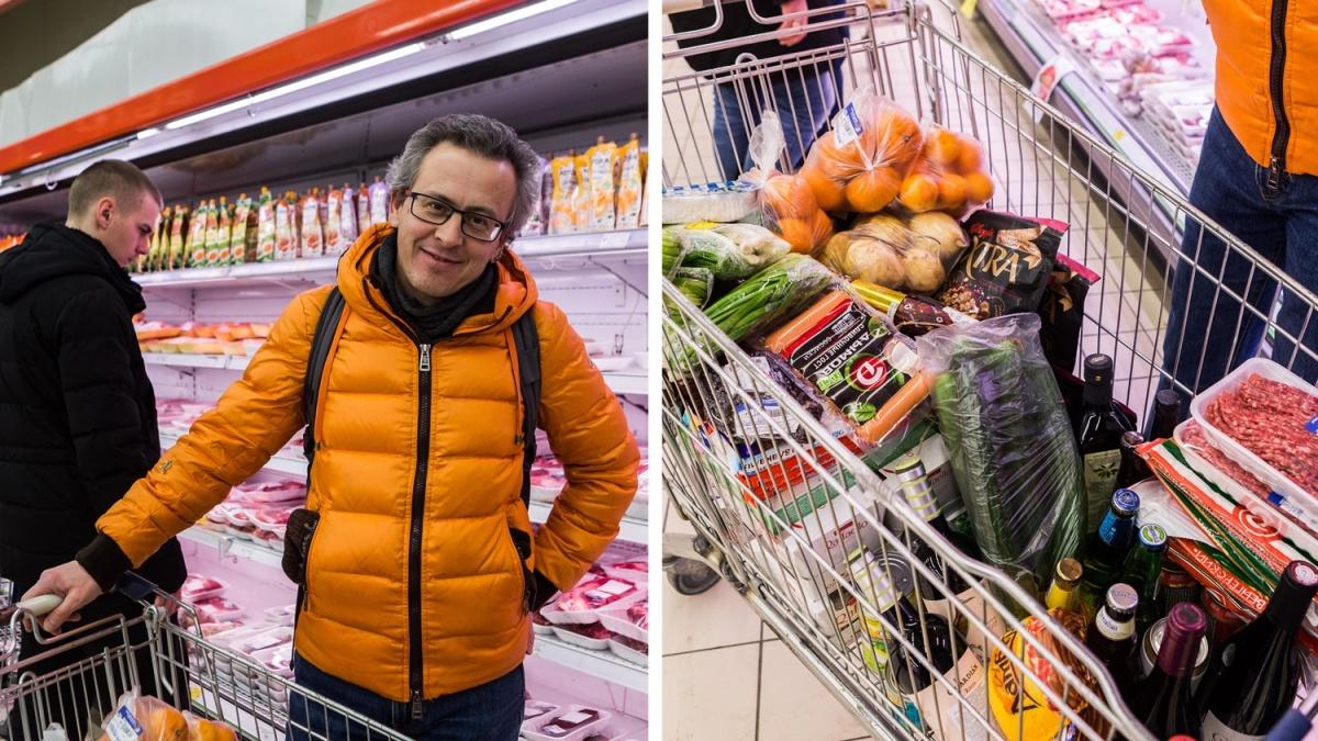 Андрей рассказал, что в последнее время решили с семьёй экономить на новогоднем столе