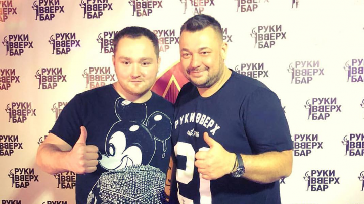Уголок 90-х: сын экс-мэра Александр Донской и лидер «Руки Вверх!» обсудили бизнес в Архангельске