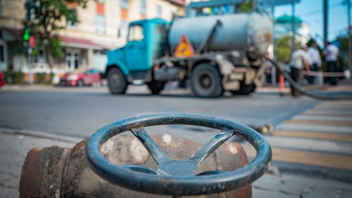 В ближайшее время несколько центральных улиц Ростова останутся без холодной воды