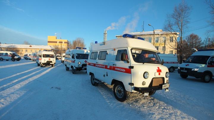 В Челябинской области недовольные зарплатой сотрудники скорой помощи выходят на пикет