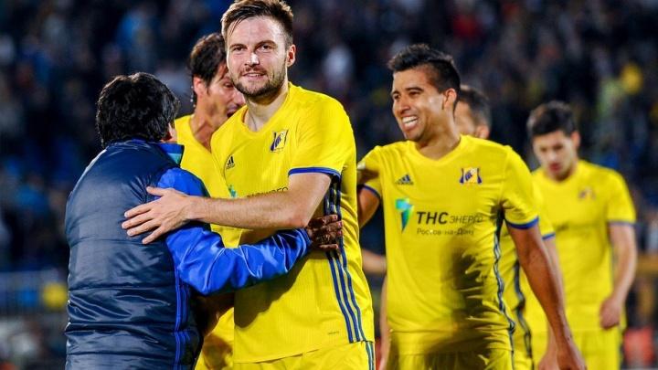 Футболист Владимир Гранат может перейти из «Рубина» в «Ростов»