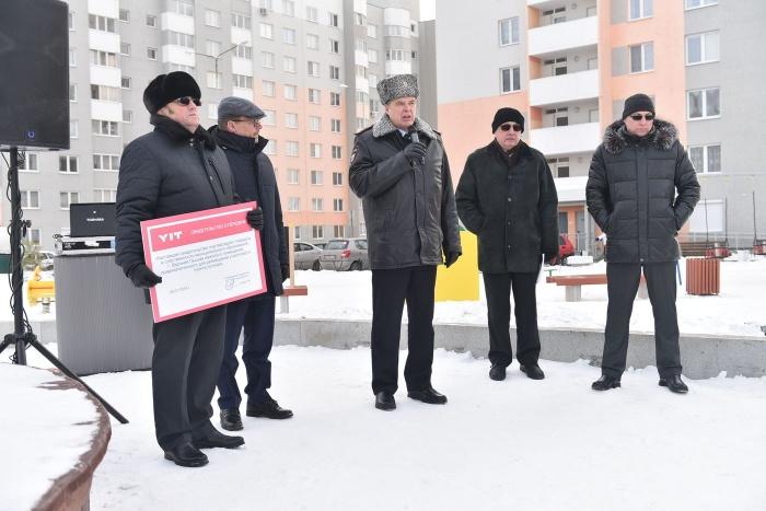 Принимал новый пункт полиции начальник управления деятельности участковых Дмитрий Шиловских