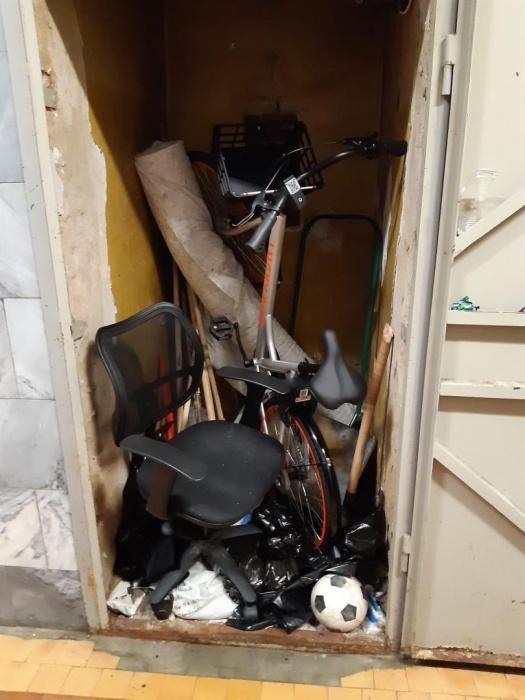 Один из велосипедов нашли в подсобке дворника