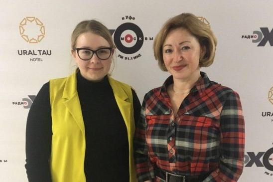 Ленара Иванова (на фото справа) рассказала журналистам о подвижках в развитии проекта уфимского хосписа