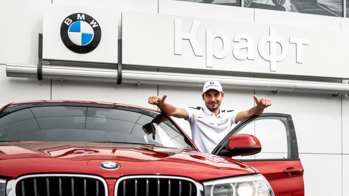 Антон Шипулин поздравил BMW «Крафт» с днём рождения