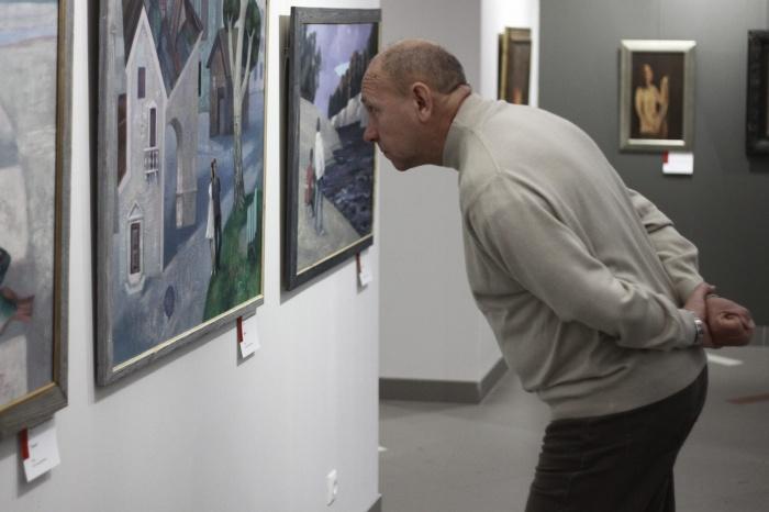 Выставка открылась в арт-центре «Красный» и продлится до 12 января