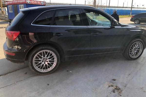 Машину Ксении нашли в Челябинске