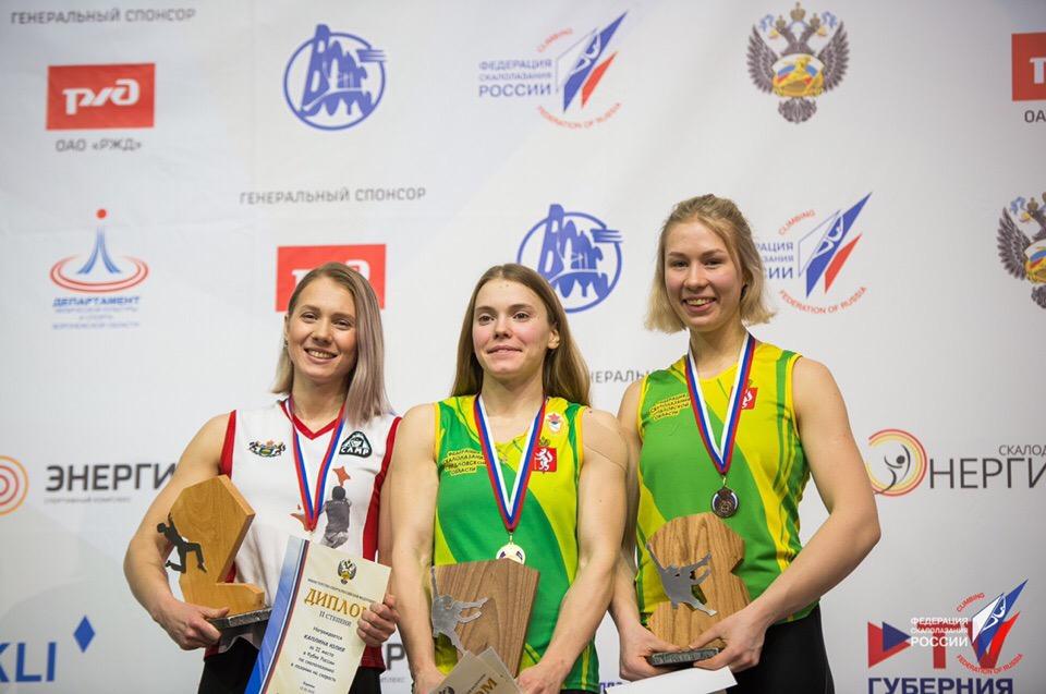 Екатеринбурженки заняли два призовых места
