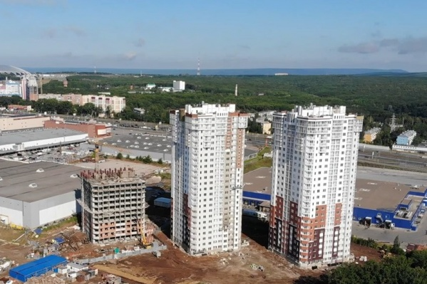 ЖК строят с 2018 года